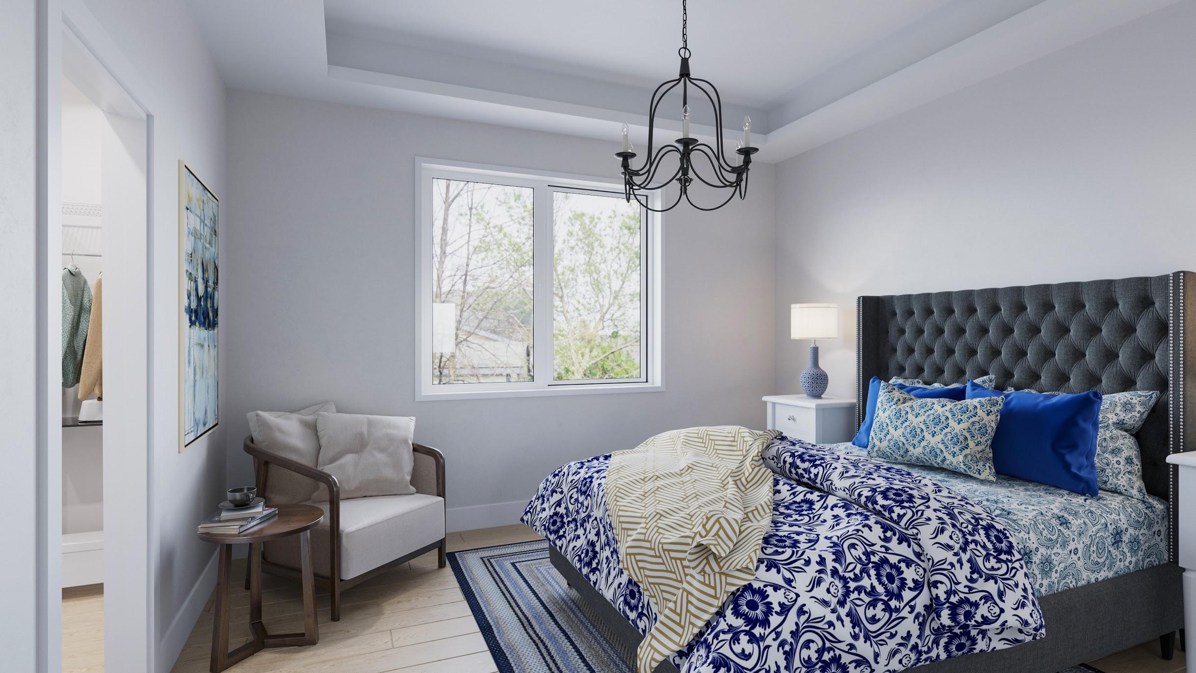 The Landings Bedroom