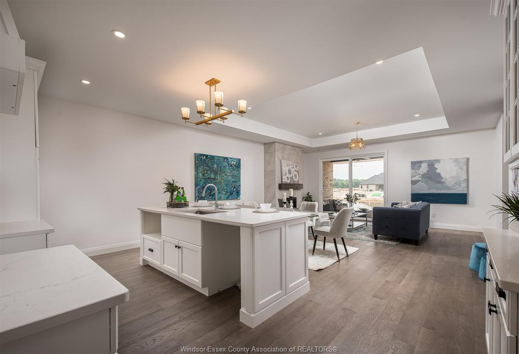 The Landings Living and Kitchen Area