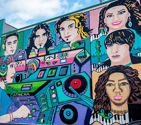 Music Mural Walkerville Windsor